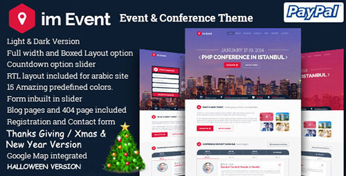 ThemeForest - im Event v2.0 - Event & Conference WordPress Theme