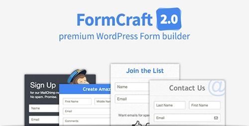 CodeCanyon - FormCraft v2.1.1 - Premium WordPress Form Builder