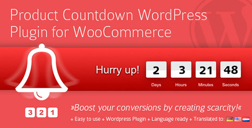 CodeCanyon - Product Countdown v3.7.2 - WordPress Plugin