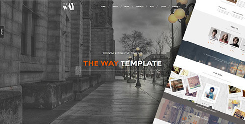 ThemeForest - The Way v1.0 - Creative OnePage & MultiPurpose WP Theme