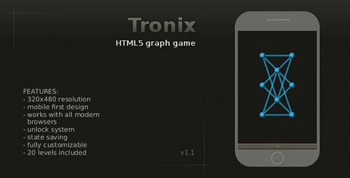 CodeCanyon - Tronix - Graph Game
