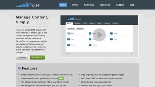 Pulse CMS Pro v3.5.5 - NULLED - ECHO