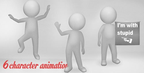 6 Flash Character Animations - Activeden 4820377