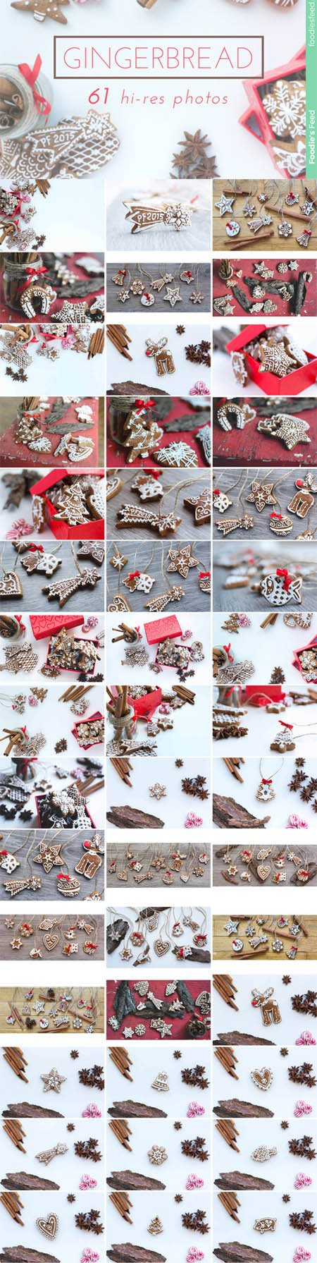 GINGERBREAD - Premium Photo Package - Creativemarket 139493
