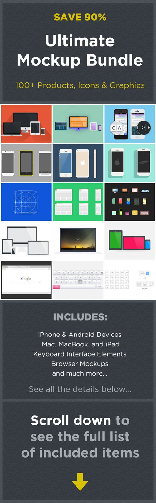 Ultimate Mockup Bundle - Creativemarket 100656