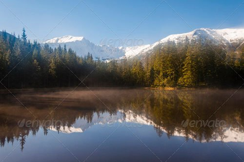 Winter Landscape. Tatra Mountains in Poland - PhotoDune