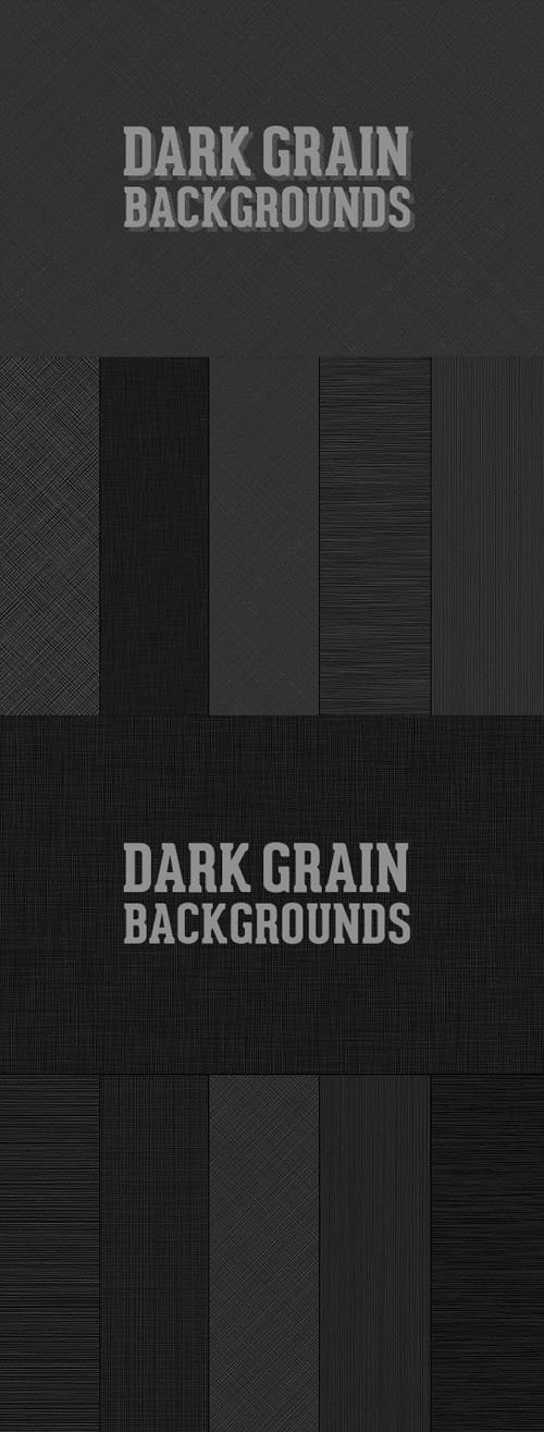 Dark Grain Backgrounds