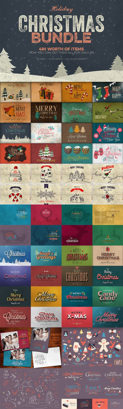 Christmas Bundle - Creativemarket 125627