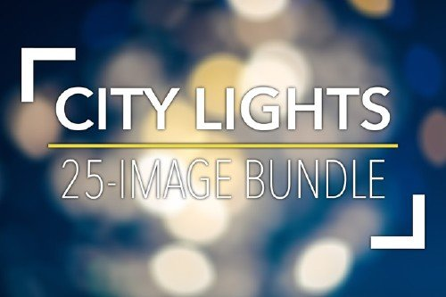 City Lights Bokeh Bundle - CreativeMarket  84638