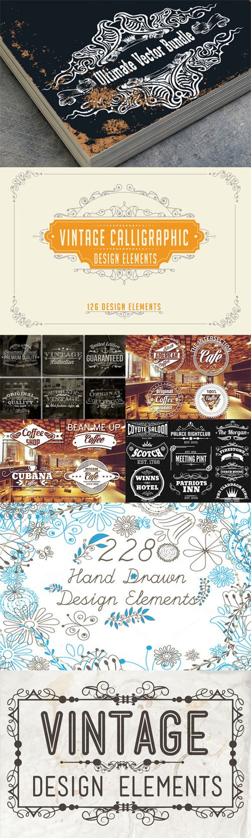 The Ultimate Vector Bundle - Creativemarket 130439