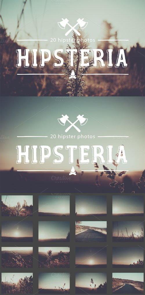 Hipsteria photo pack - CM 92804