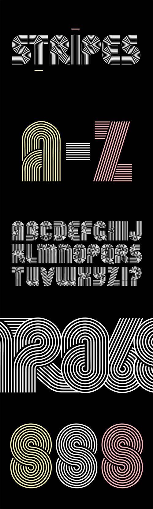 Stripes Typeface