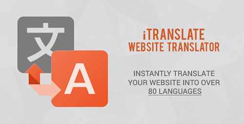 CodeCanyon - iTranslate v1.2 - Website Translator