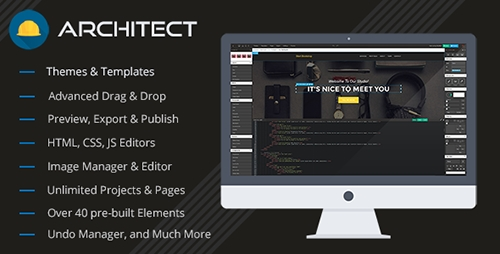 CodeCanyon - Architect v1.1.1 - Site and HTML builder