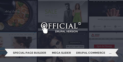 ThemeForest - MD Official v2.0.4 - Multi-Purpose Drupal Theme