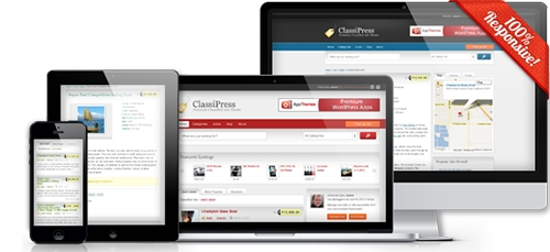 AppThemes - Classipress v3.4 - Template For WordPress