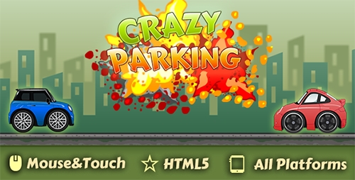 CodeCanyon - CrazyParking-Html5 Game