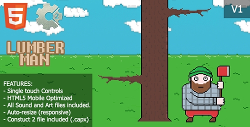 CodeCanyon - LumberMan - Wood Chopping Game