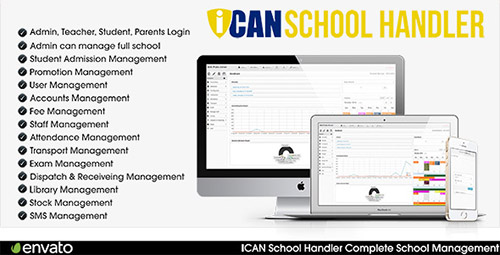 CodeCanyon - ICAN School Handler v1.2.2