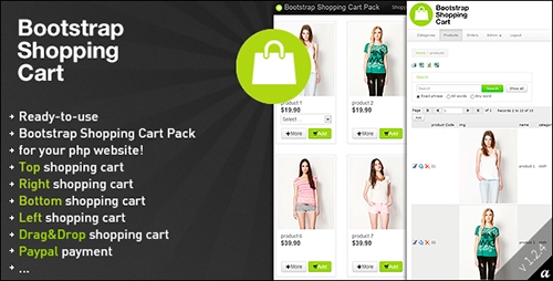 CodeCanyon - Bootstrap Shopping Cart Pack v1.2.4