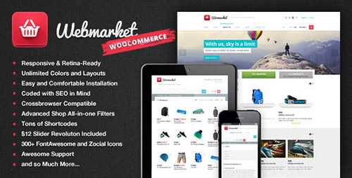 ThemeForest - Webmarket v2.3.3 - WP Theme for Advanced Online Shops