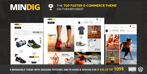 ThemeForest - Mindig v1.0.9 - Flat & Multipurpose Ecommerce Theme