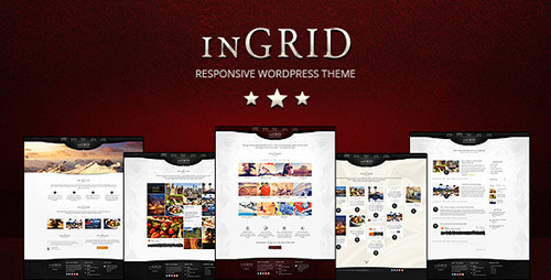 ThemeForest - InGRID v1.7 - Responsive Multi-Purpose WordPress Theme