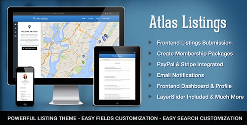 ThemeForest - Atlas v2.3.6 - Directory & Listings Premium WordPress Theme