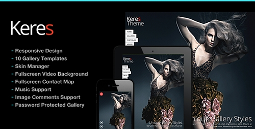 ThemeForest - Keres v2.2 - Fullscreen Photography Theme