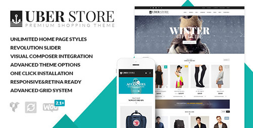 ThemeForest - UberStore v2.0.5 - Next-Level Multi-Purpose Theme