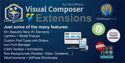 CodeCanyon - Visual Composer Extensions v3.0.1