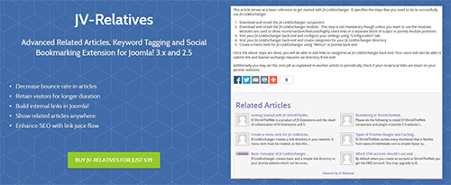 JV-Extensions - JV-Relatives v5.3 - Extension for Joomla! 3.x