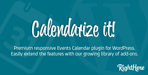 CodeCanyon - Calendarize it! v3.2.7.55699 for WordPress