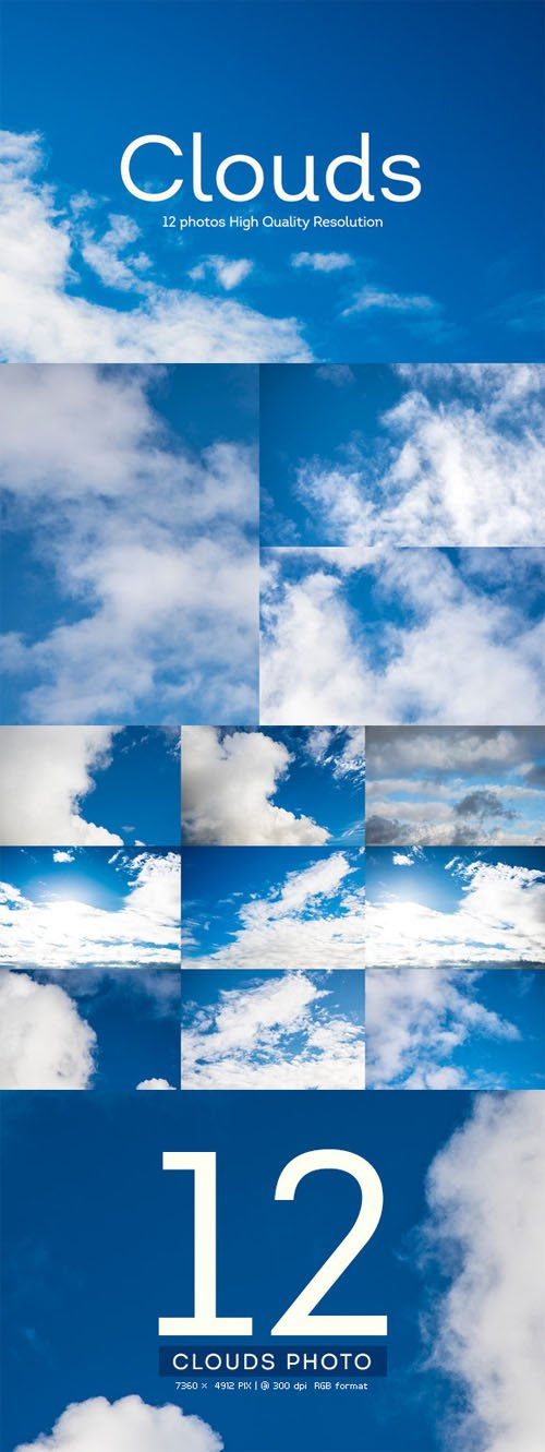 12 Clouds Photography HQ - CM 141107