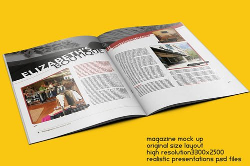 Magazine Mock Up - CM 141327