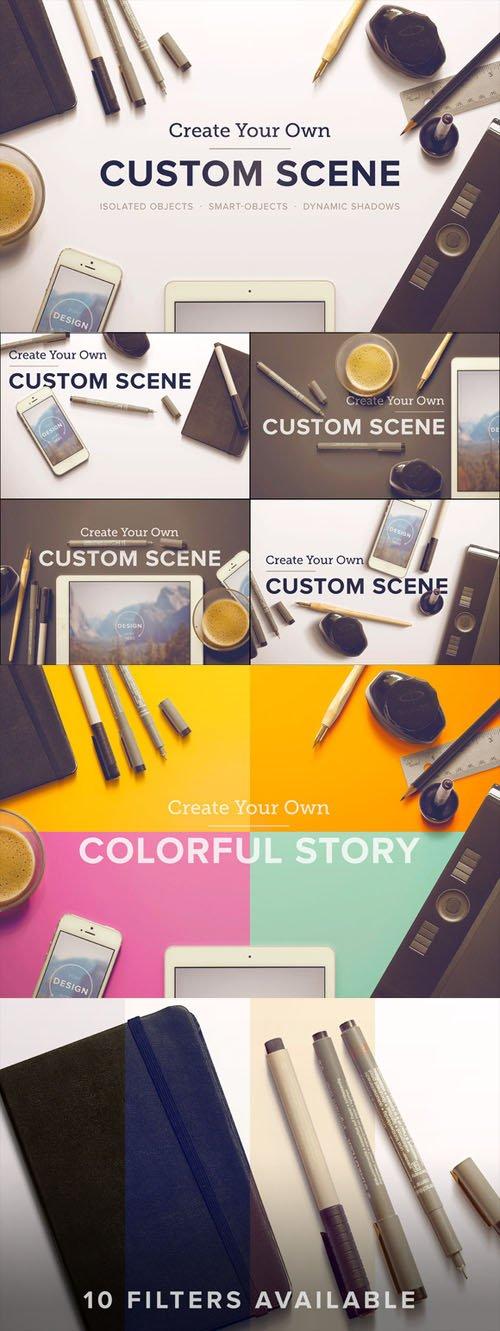 Custom Scene - Designer Ed. - Vol. 1 - CM 74640