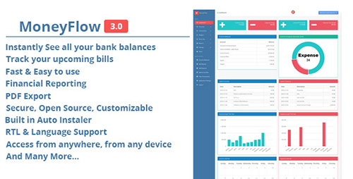 CodeCanyon - MoneyFlow v3.0 - Accounting Software