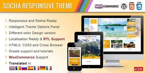 ThemeForest - Socha v2.6 - Responsive WordPress Theme
