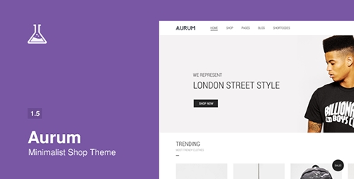 ThemeForest - Aurum v1.5.1 - Minimalist Shopping Theme
