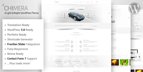 ThemeForest - Chimera v1.0 - A Light Bright WordPress Theme