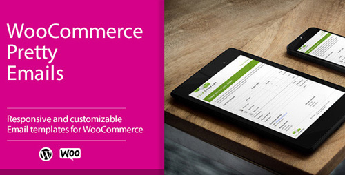 CodeCanyon - WooCommerce Pretty Emails v1.4.1