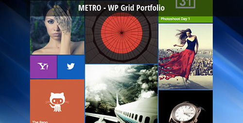 CodeCanyon - Metro - WordPress Grid Portfolio v1.4