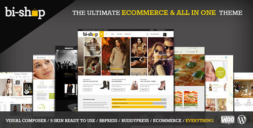 ThemeForest - Bi-Shop v1.3.2 - All In One: Ecommerce & Corporate Theme