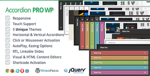 CodeCanyon - Accordion Pro WP v2.0.0 - Responsive WordPress Accordion