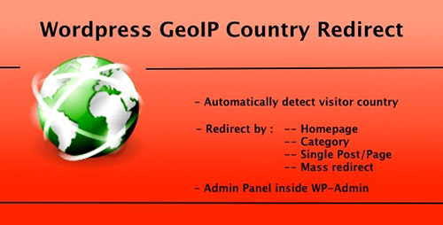 CodeCanyon - WP GeoIP Country Redirect v2.2