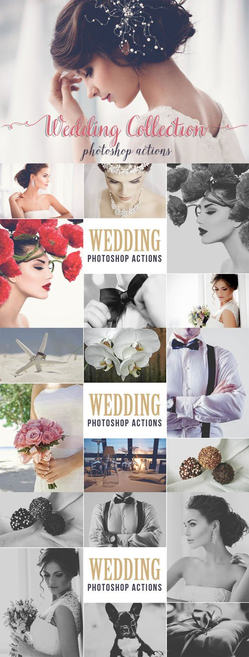 Wedding Photoshop Actions - CM 179111