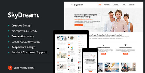 ThemeForest - SkyDream v1.0.4 - Responsive Multi-Purpose WordPress Theme