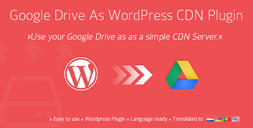 CodeCanyon - Google Drive As WordPress CDN Plugin v1.8.1