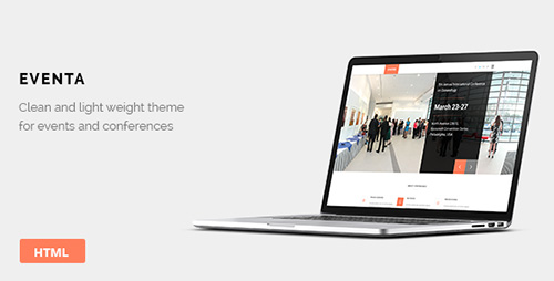 ThemeForest - Eventa - Event HTML Theme - RIP
