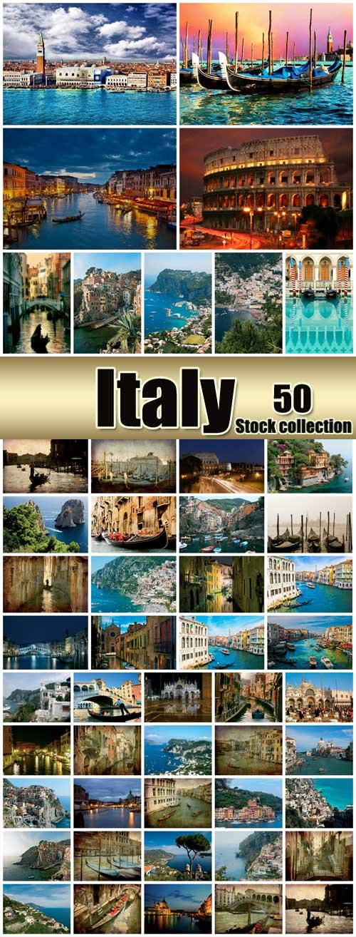 Italy, a large collection of stock photos